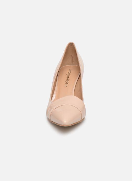 Zapatos de tacón Georgia Rose Ayala Beige vista del modelo