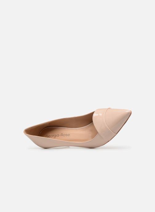 Zapatos de tacón Georgia Rose Ayala Beige vista lateral izquierda