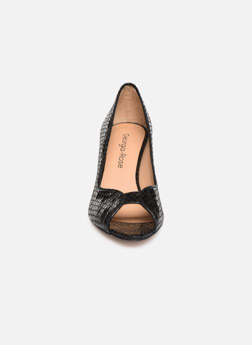 Escarpins Georgia Rose Azenora Noir vue portées chaussures