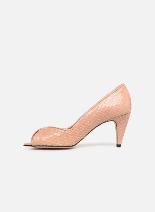 Zapatos de tacón Georgia Rose Azenora Beige vista de frente