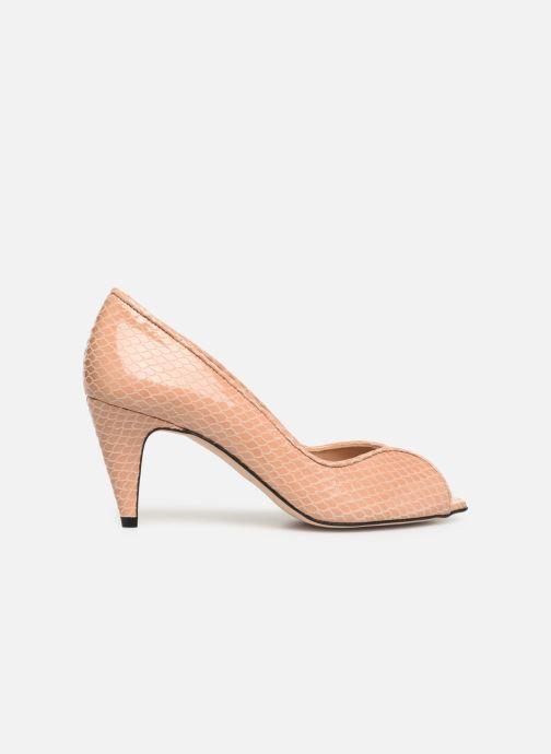 Zapatos de tacón Georgia Rose Azenora Beige vistra trasera