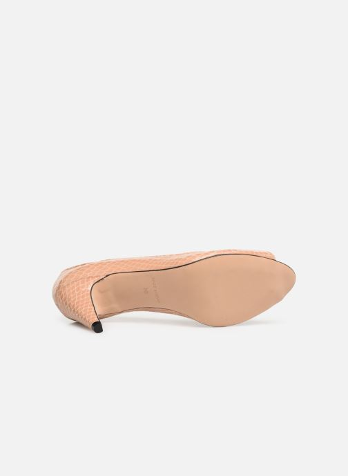Zapatos de tacón Georgia Rose Azenora Beige vista de arriba
