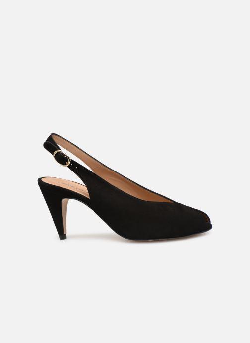 Sandales et nu-pieds Georgia Rose Avrila Noir vue derrière