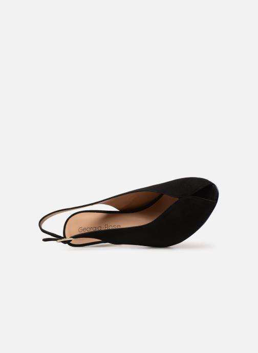 Sandales et nu-pieds Georgia Rose Avrila Noir vue gauche