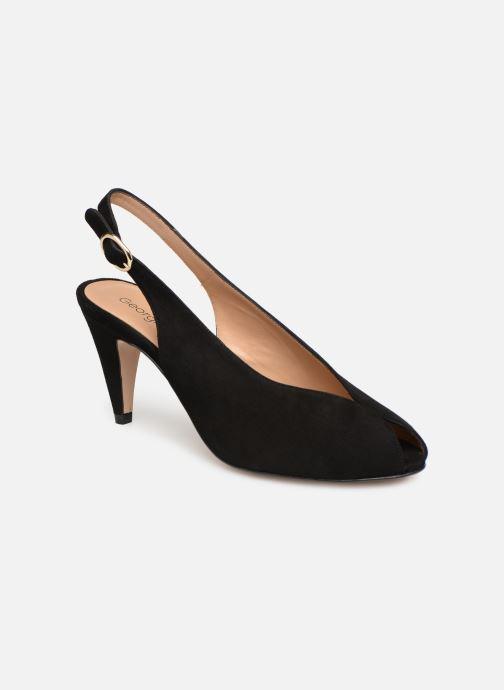Sandales et nu-pieds Georgia Rose Avrila Noir vue détail/paire