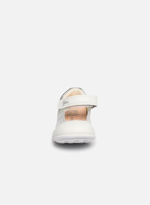 Ballerinaer Geox B Jodie B7226B Sølv se skoene på