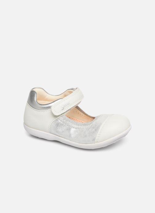 Ballerinaer Geox B Jodie B7226B Sølv detaljeret billede af skoene