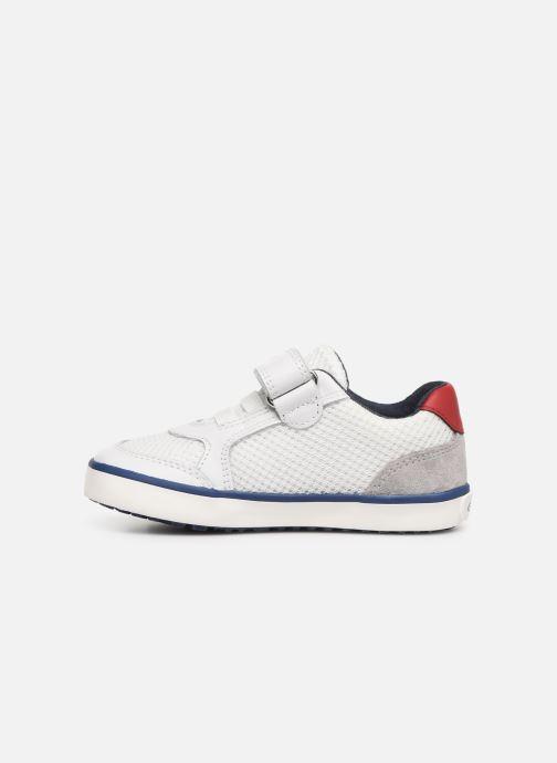 Sneakers Geox B Kilwi Boy B92A7C Wit voorkant