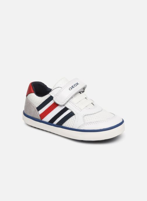 Trainers Geox B Kilwi Boy B92A7C White detailed view/ Pair view