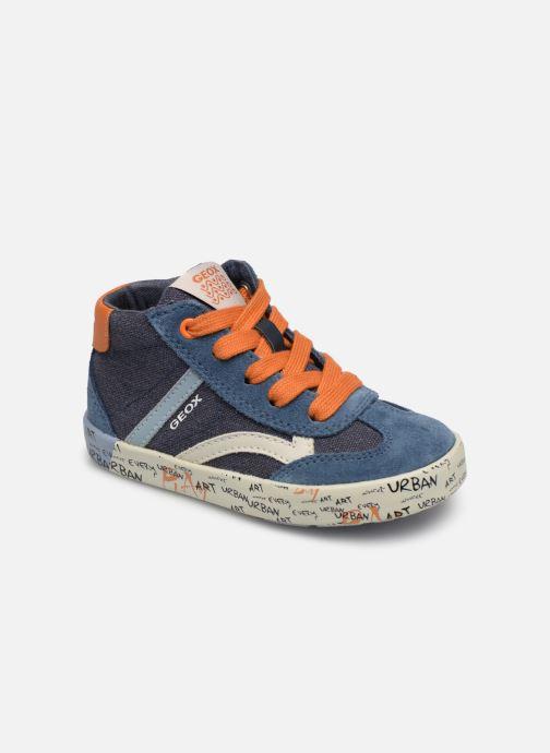 Baskets Geox B Kilwi Boy B92A7E Bleu vue détail/paire