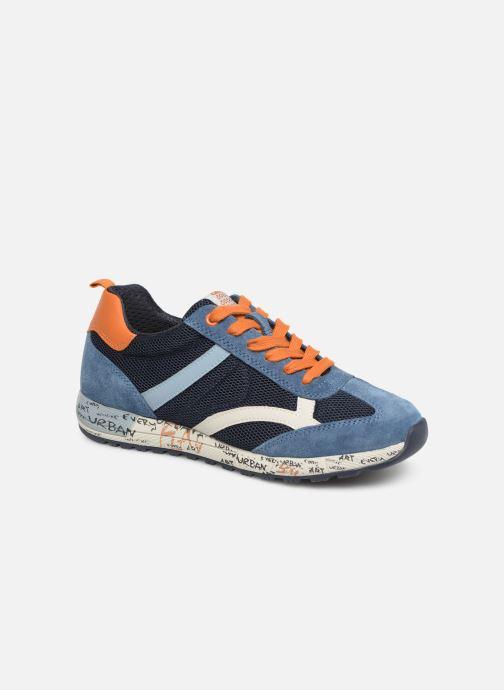 Sneakers Geox J Alben Boy J929EA Blauw detail