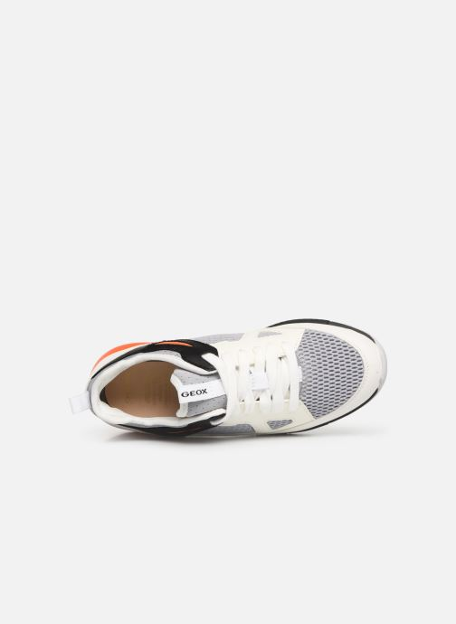 Sneakers Geox J Alben Boy J929ED Wit links