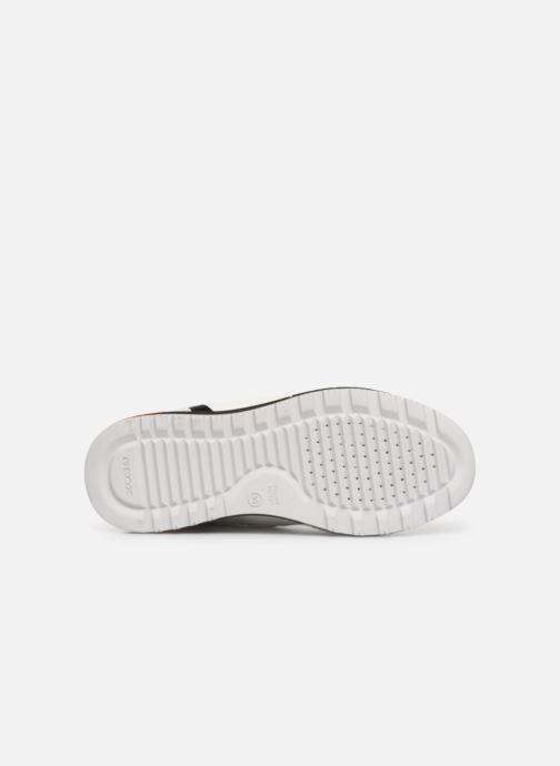 Sneakers Geox J Alben Boy J929ED Wit boven