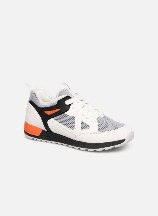 Trainers Geox J Alben Boy J929ED White detailed view/ Pair view