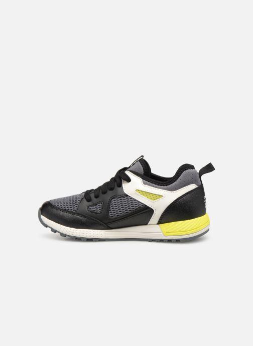 Sneakers Geox J Alben Boy J929ED Sort se forfra