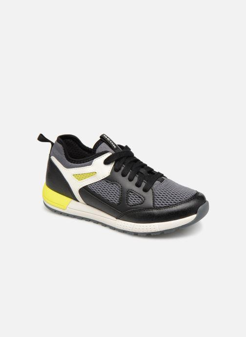 Sneakers Geox J Alben Boy J929ED Sort detaljeret billede af skoene