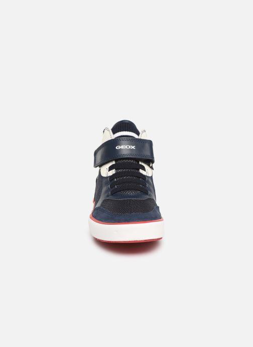 Sneaker Geox J Alonisso Boy J922CD blau schuhe getragen