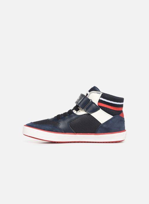 Sneaker Geox J Alonisso Boy J922CD blau ansicht von vorne