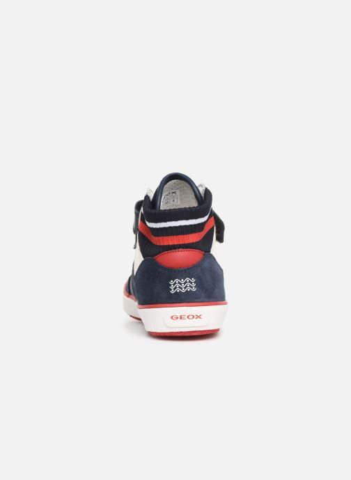 Sneaker Geox J Alonisso Boy J922CD blau ansicht von rechts