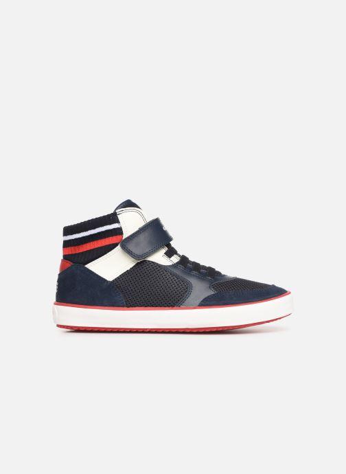 Sneaker Geox J Alonisso Boy J922CD blau ansicht von hinten