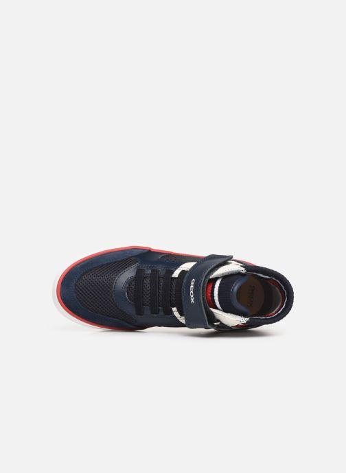 Sneaker Geox J Alonisso Boy J922CD blau ansicht von links