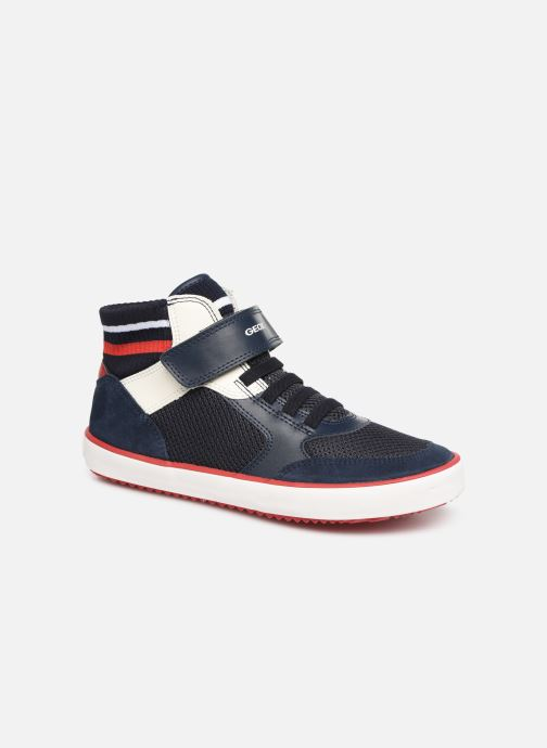 Trainers Geox J Alonisso Boy J922CD Blue detailed view/ Pair view