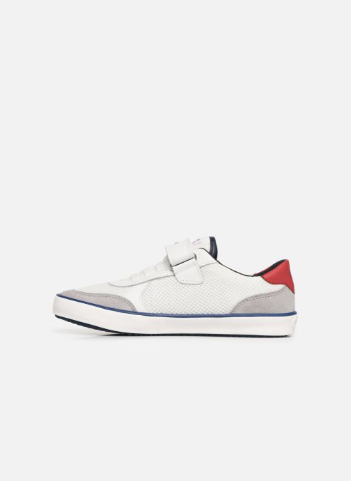 Trainers Geox J Alonisso Boy J922CE White front view