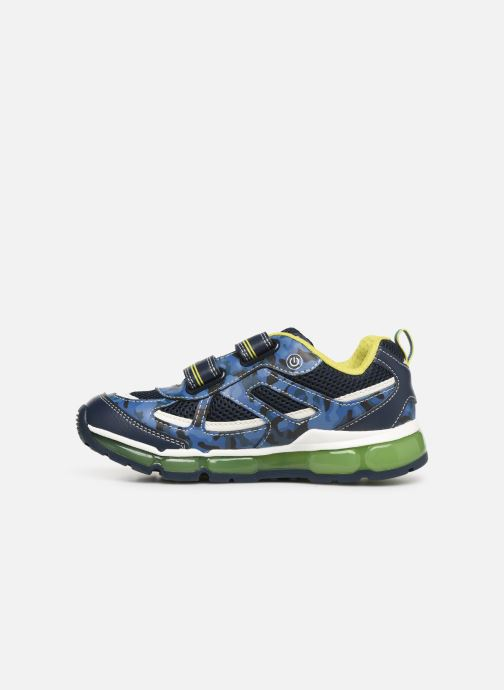 Trainers Geox J Android Boy J9244C Blue front view