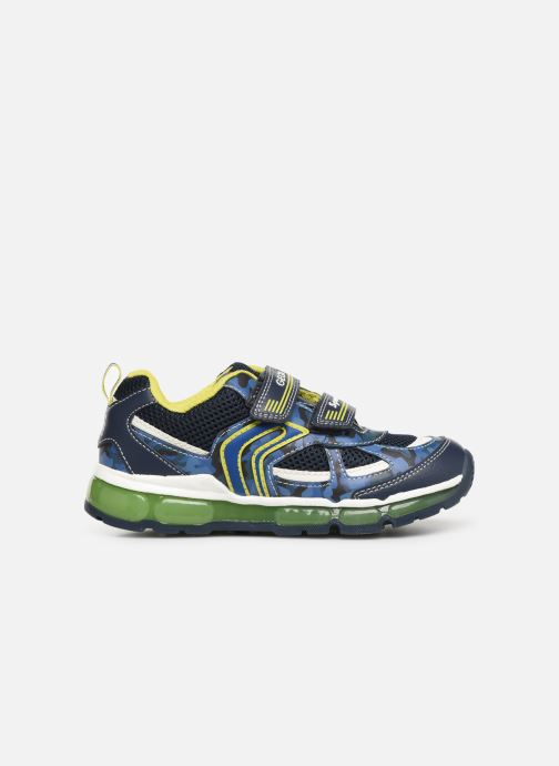 Trainers Geox J Android Boy J9244C Blue back view