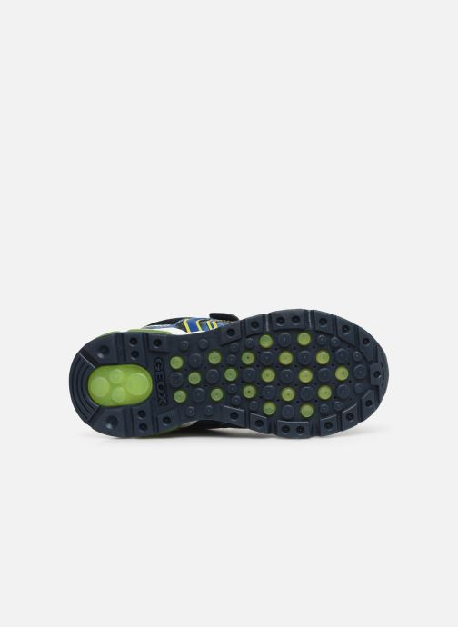Trainers Geox J Android Boy J9244C Blue view from above