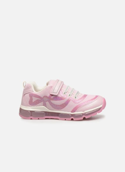 Trainers Geox J Android Girl J9245C Pink back view