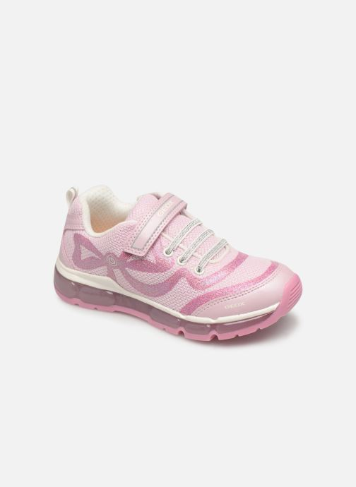 Trainers Geox J Android Girl J9245C Pink detailed view/ Pair view
