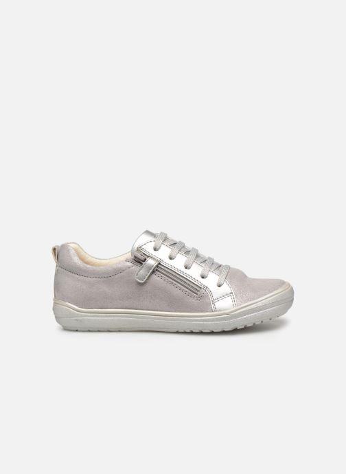 Sneakers Geox J Hadriel Girl J927VB Zilver achterkant