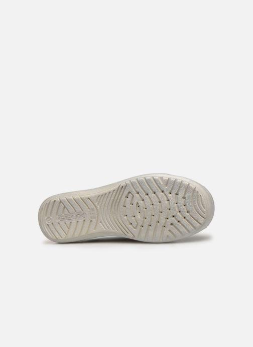 Sneakers Geox J Hadriel Girl J927VB Zilver boven