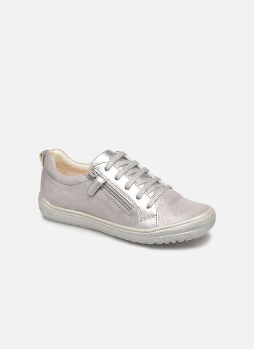 Trainers Geox J Hadriel Girl J927VB Silver detailed view/ Pair view