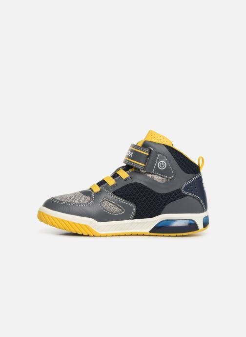 Sneakers Geox J Inek Boy J929CA Grijs voorkant