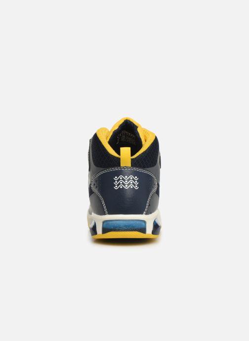 Sneakers Geox J Inek Boy J929CA Grijs rechts