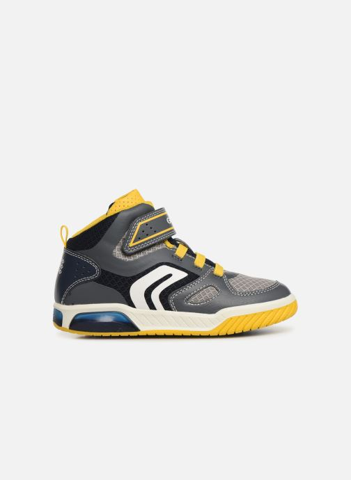 Sneakers Geox J Inek Boy J929CA Grijs achterkant