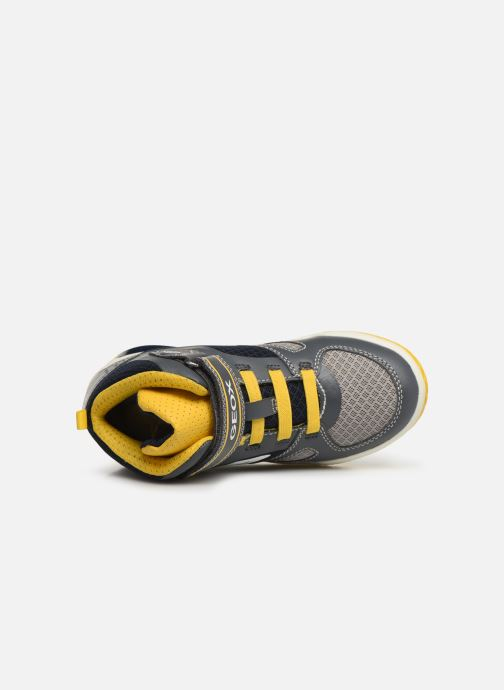 Sneakers Geox J Inek Boy J929CA Grijs links