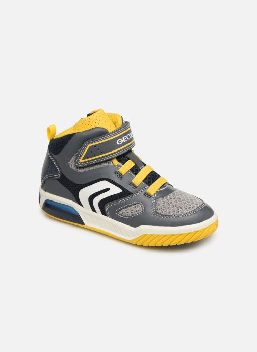 Sneakers Geox J Inek Boy J929CA Grijs detail