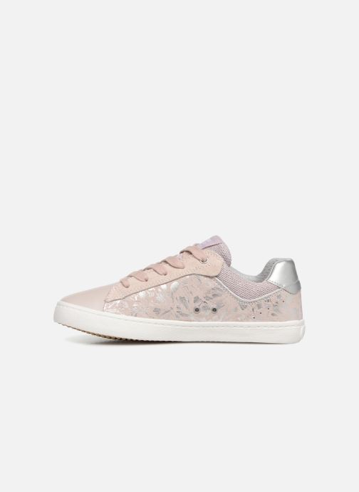 Trainers Geox J Kilwi Girl J92D5E Pink front view