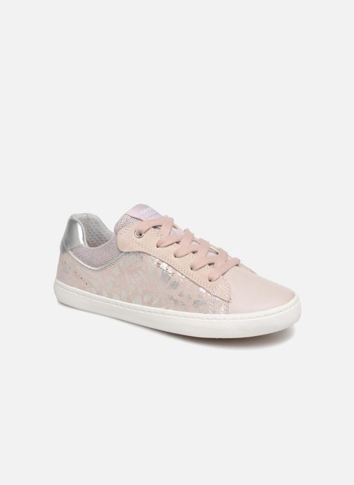 Trainers Geox J Kilwi Girl J92D5E Pink detailed view/ Pair view