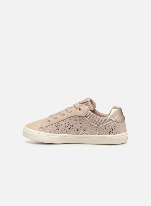 Trainers Geox J Kilwi Girl J92D5E Beige front view