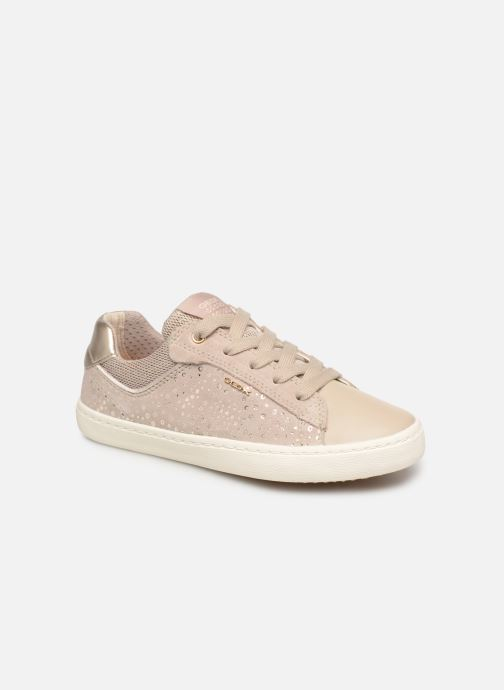 Trainers Geox J Kilwi Girl J92D5E Beige detailed view/ Pair view
