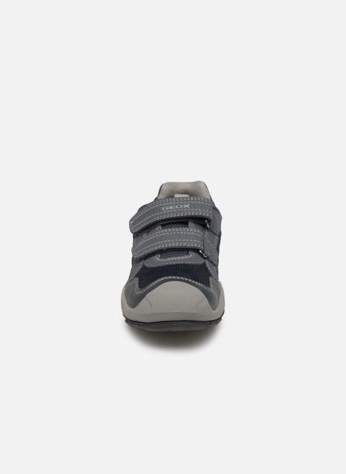 Sportssko Geox J New Savage Boy J921VC Blå se skoene på