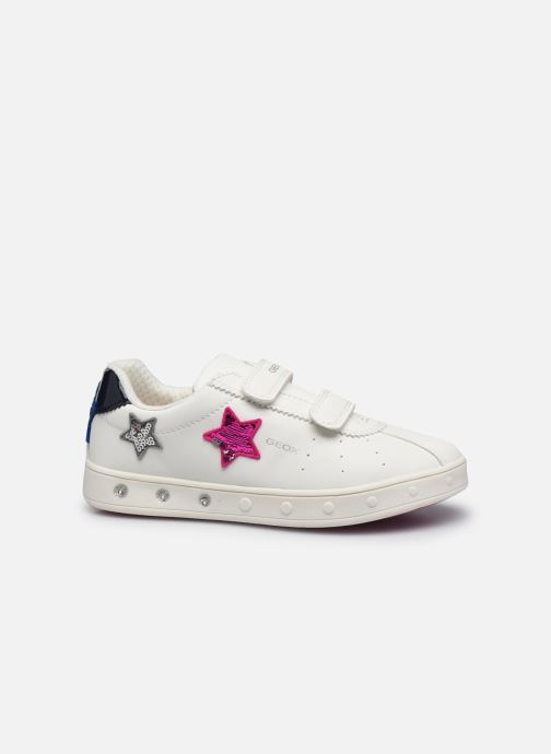 Sneaker Geox J Skylin Girl J928WC weiß ansicht von hinten