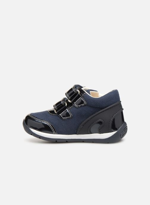 Trainers Geox B Each Girl B920AG Blue front view
