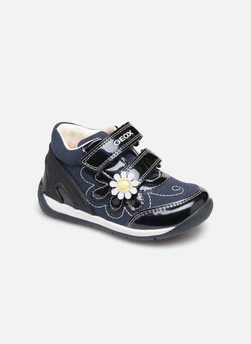 1a8e58d70d6 Sneakers Geox B Each Girl B920AG Blå detaljeret billede af skoene