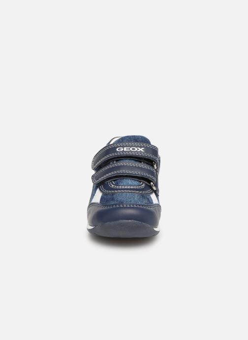 Sneaker Geox B Each Boy B920BD blau schuhe getragen