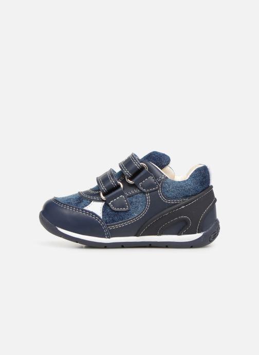 Sneaker Geox B Each Boy B920BD blau ansicht von vorne